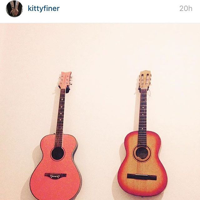 KITTY FINER IS NOW ON INSTAGRAM